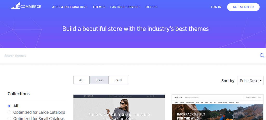 best bigcommerce theme