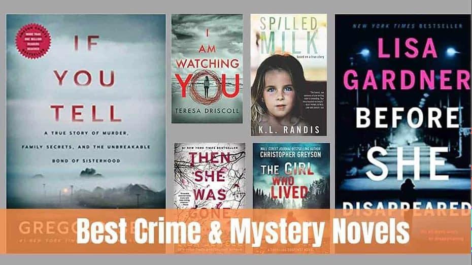 Best Crime Novels Ever Written [Mystery & Crime Books]