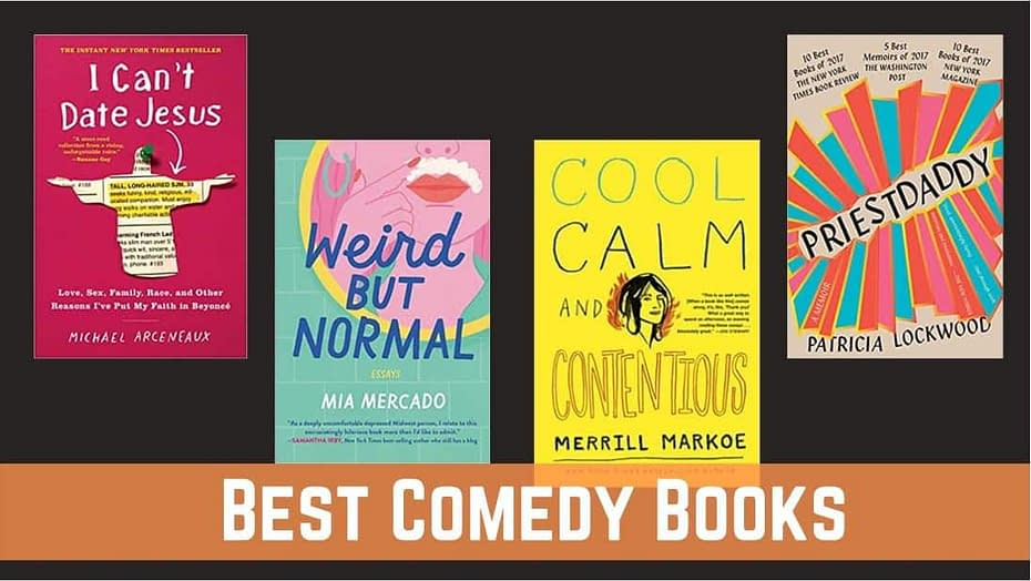 Best Books For Comedy Fans To Burst You Into Laughter