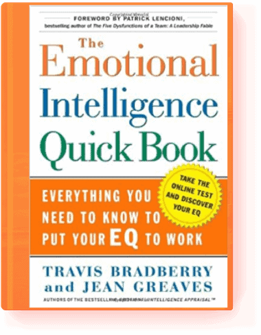 The Emotional Intelligence Quick Book by Jean Greaves, and Travis Bradberry