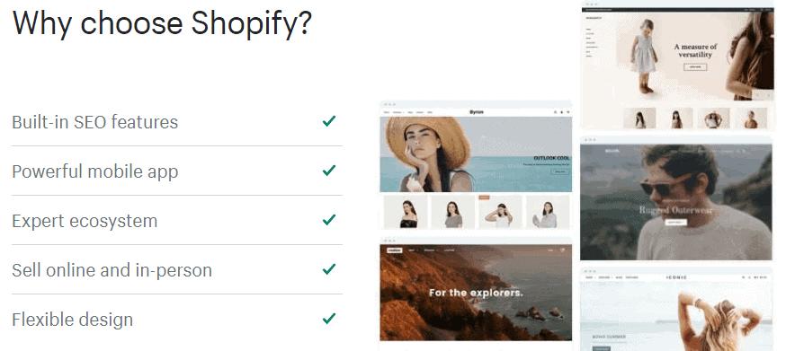 advantage of shopify